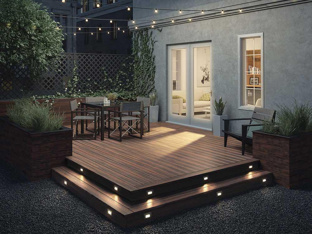 Deck Stair Lighting